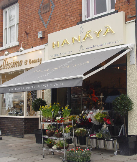 Barlow Awnings :: Hanaya Flower Shop, Allendale Road ...